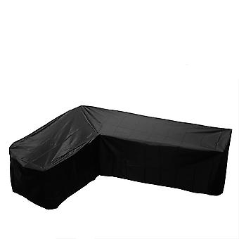 Silktaa Patio V-shaped Sectional Sofa Covers Waterproof Outdoor Furniture Protector