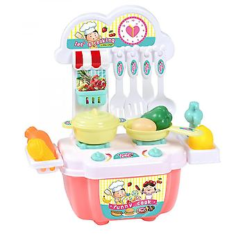 Small  22pc Toy Kitchen Tableware