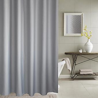 Mile Thickened Waterproof And Mildew Proof Polyester Fabric Shower Curtain
