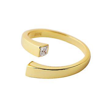 3PCS טבעות זהב לנשים אופנה חדשה גיאומטרי אלגנטי כלה כלה מתנות