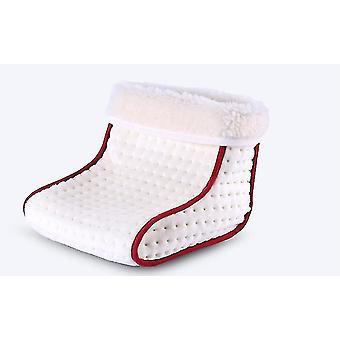 Electric Heated Foot Warmer,winter office bedroom foot warmer(White)