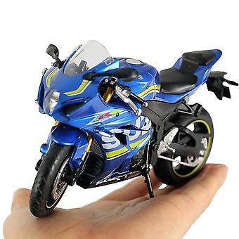 1:12 קנה מידה סגסוגת GSX-R1000 אופנוע מודל 1000 אופנוע מודל מחוץ לכביש אופנוע שוקול מוטו מתכת
