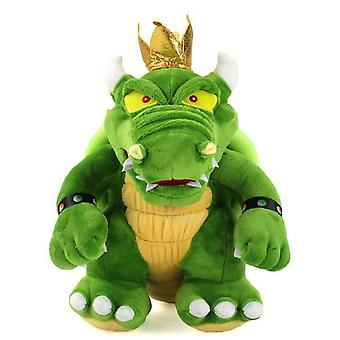 Koopa Bowser Pluszowe zabawki Green King Fire Dragon Soft Stuffed Anime Cartoon Gifts