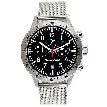Aristo Mäns Messerschmitt Klocka Pilot's Watch Kronograf ME-5021M
