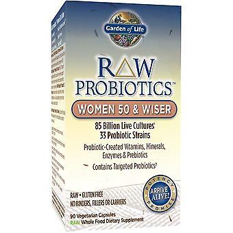 RAW Probiotics Women 50 & Wiser - 90 vcaps