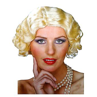 Flapper Blonde 20s Gangster Women Costume Wig