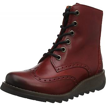 Fly London Sarl069fly - Lace Up Leather Military Boot