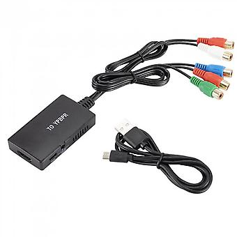 Hdmi-compatible To Ypbpr Video Converter Rgb 5rca Component Stereo Audio For Ps3 Tv Signal Converter