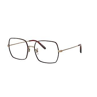 Eyeglasses oliver peoples justyna ov1279 5037 rose gold-burgundy glasses