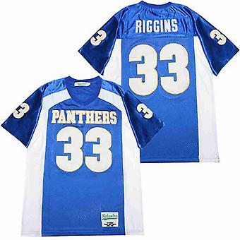 Men's Friday Night #33 Lights Football Jersey, Stitched Movie Football Jerseys Sports Short Sleeve T-shirt Size S-xxxl