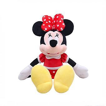 22cm Minnie Plush Anime Cartoon Cute Dolls Plush Toys For Girls Kids Toys Birthday Gift
