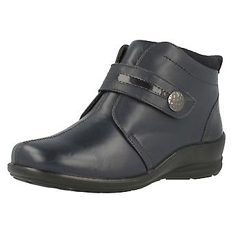 Ladies Padders Wide Fit Ankle Boots Shirley