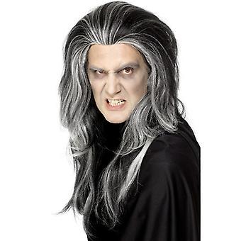 Peruka Gothic Halloween Wampir hrabia Dracula