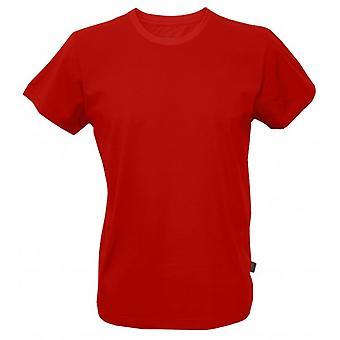 Jockey USA originale amerikanische Rundhals T-Shirt, rot