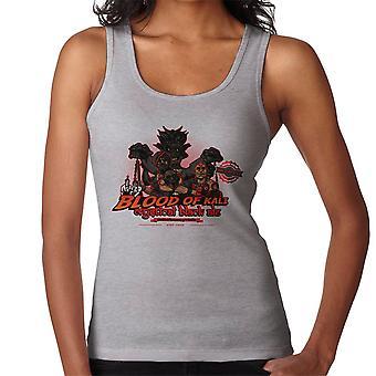 Indiana Jones Blood Of Kali Mystical Black Ale Temple Of Doom Women's Vest