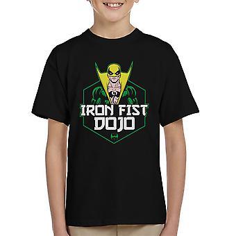 Iron Fist Dojo Kid's T-Shirt