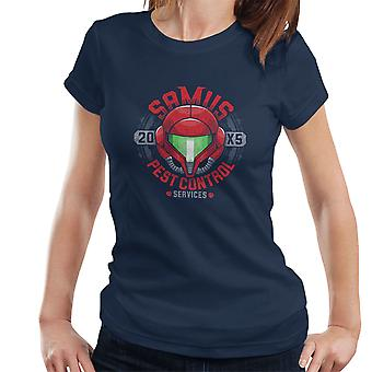 Samus Pest Control Services Metroid  Women's T-Shirt