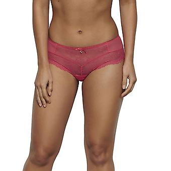 Gossard 7714- Women's Suberboost Lace Hibiscus Pink Lace Knicker Shorties Boyshort