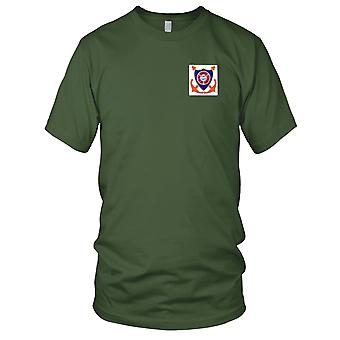 US Navy USS Terrell County LST-1157 Tank Landing Ship Embroidered Patch - Mens T Shirt