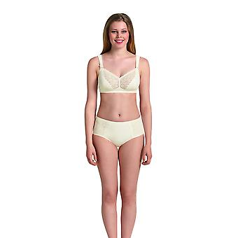 Anita Comfort 5812-612 Dames's Havanna Crystal Off White Lace Non-Wired Comfort Bra