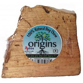 Antos Origins Natural Tuber Root Wooden Dog Chew