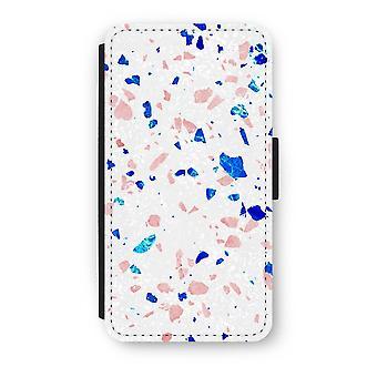 iPhone X フリップ ケース - テラゾー N ° 6