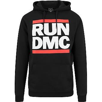 Merchcode X ARTISTS - Run DMC Logo Hoody black