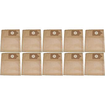 50 x Numatic Henry støvsuger støv papirposer