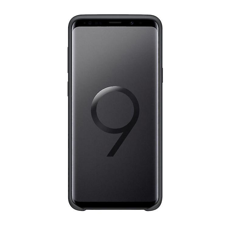 Samsung EF-PG965TB silicone cover case for G965F Galaxy S9 plus black