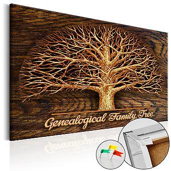 Quadro de cortiça - Family Tree [Corkboard]