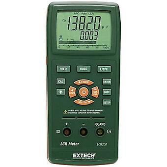 Extech LCR200 Component tester Digital CAT I Display (counts): 20000