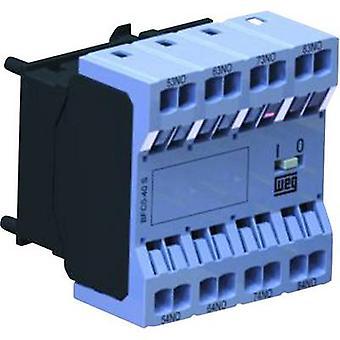 WEG BFC0-13S Auxiliary switch module Compatible with (relay brand): Weg 1 pc(s)