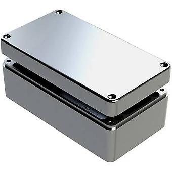 Deltron skap 488-261612A-68 Universal kabinett 260 x 160 x 120 Aluminium grå 1 eller flere PCer