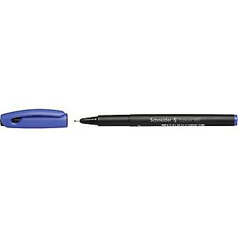 Schneider 9673 topliner 967 fineliner blå 0,4 mm 1 st (s)