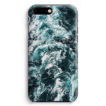 iPhone 8 Plus pełna obudowa głowiczki (błyszcząca) - Ocean Fala