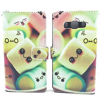Handyhülle Tasche für Handy Samsung Galaxy J5 (2016)  Marshmallows