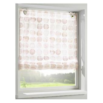 Heine home Raffarin blind with digital printing semi-transparent nature hooks and eyelets
