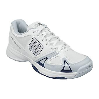 Wilson rush EVO men's tennis shoes White/Pearl Blue/Navy