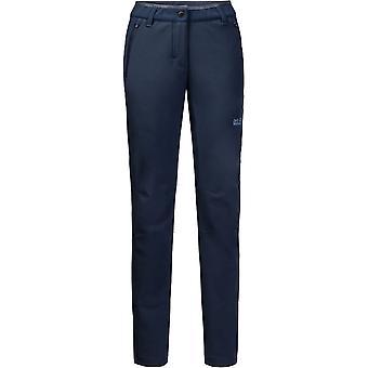 Jack Wolfskin Womens/Ladies Zenon Softshell Windproof Pants Trousers