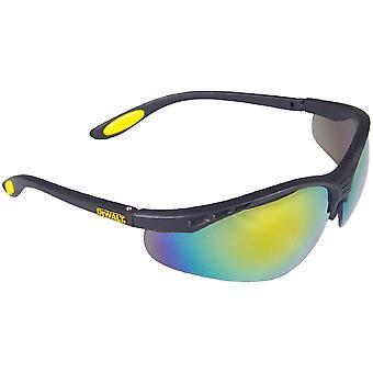 Dewalt Mens DeWalt Reinforcer Semi-Frame Safety Glasses