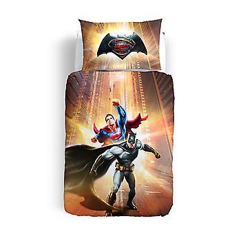 Parure Cover Batman vs Superman de Caleffi