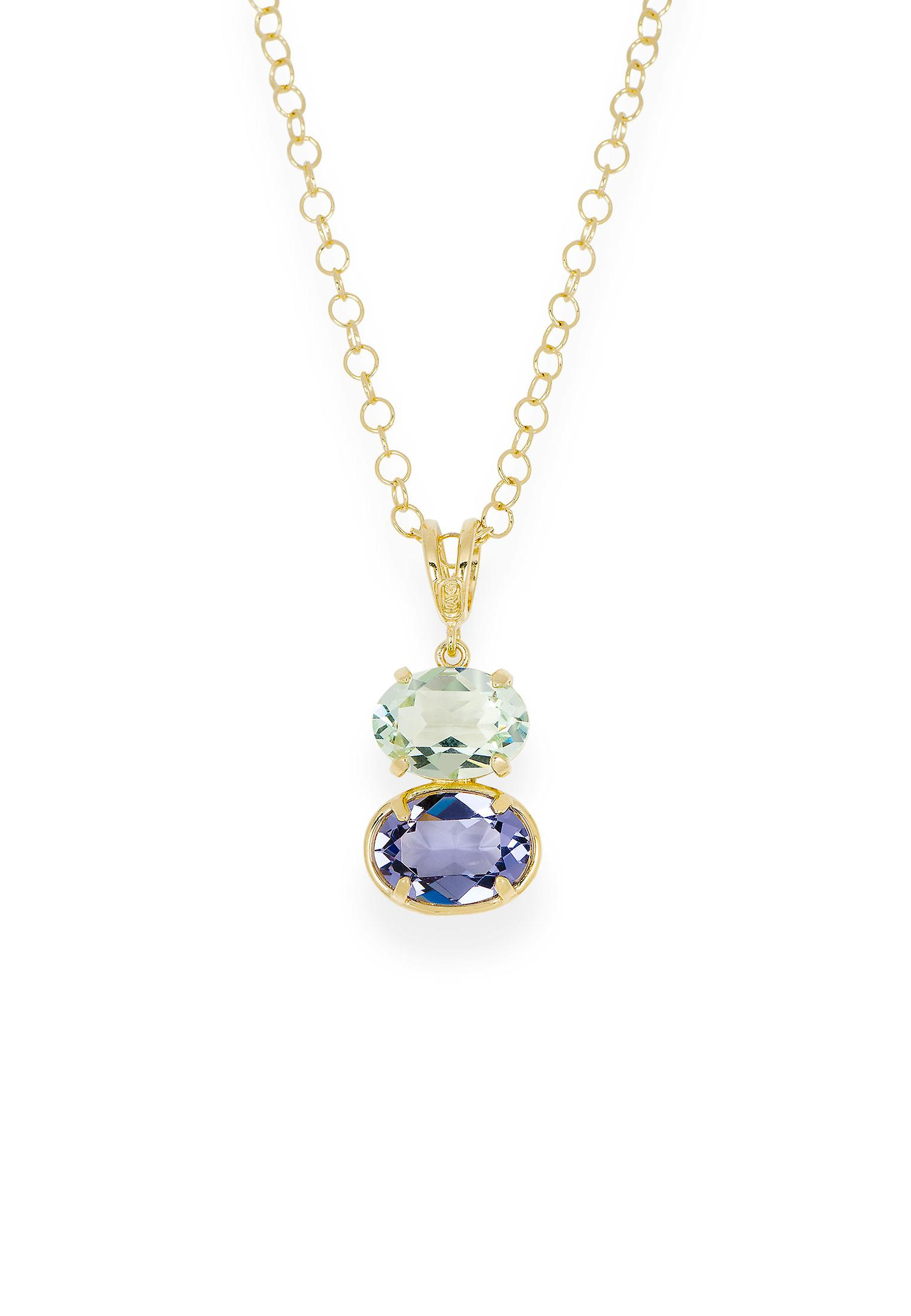 Multicolor pendant with crystals from Swarovski 9248