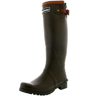 Womens Barbour Blyth Rubber Winter Black Waterproof Wellingtons Boots