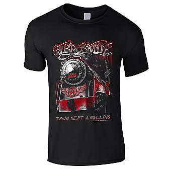 Aerosmith - Train Kept A Going Kids T-Shirt