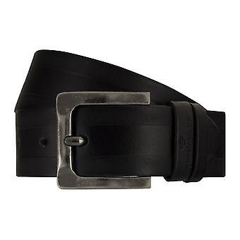 Jeans de TOM TAILOR correa cuero cinturones hombre cinturones cinturón negro 7754