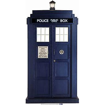 Le Tardis - BBC Doctor Who / Dr Who / Dr. Who - Lifesize Découpage cartonné / Standee