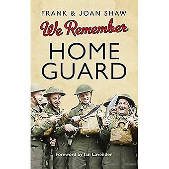 Ricordiamo la Home Guard