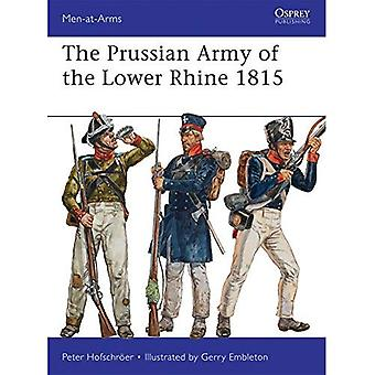 The Prussian Army of the Lower Rhine 1815 (Men-at-Arms 496)