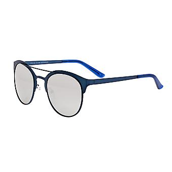 Breed Phoenix Titanium Polarized Sunglasses - Blue/Silver