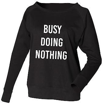 Sweatshirt Busy Doing Nothing